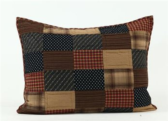 Patriotic Patch King Sham 21 x 37