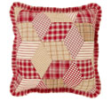 Breckenridge Quilted Ruffled Pillow 16 x 16