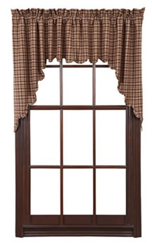 Prescott Scalloped Swags 36 x 36 x 16