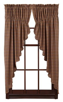 Prescott Scalloped Prairie Curtains 63 x 36 x 18