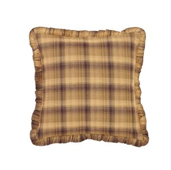 Prescott Ruffled Fabric Pillow 16 x 16