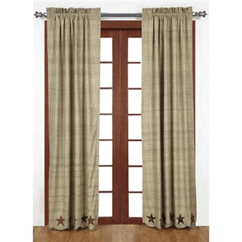 Abilene Star Panel Set of 2 84 x 40