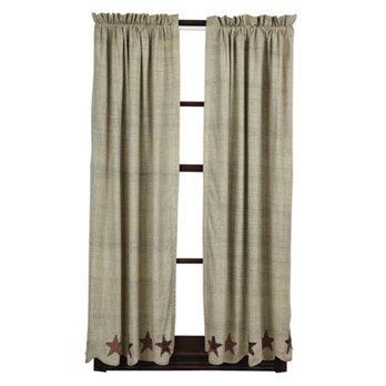 Abilene Star Short Panel Set of 2 63 x 36