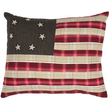 Liberty Stars Flag Pillow
