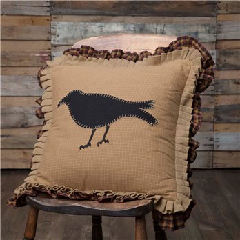 Primitive Crow Pillow