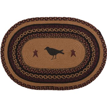 Heritage Farms Crow Jute Rug Oval (20x30)