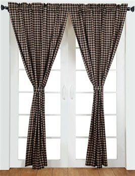 Bingham Star Plaid Panels 84 x 40