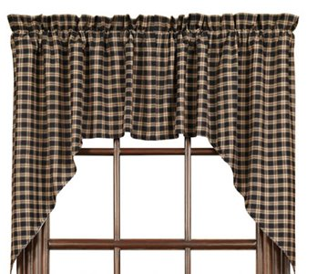 Bingham Star Plaid Swags 36 x 36 x 16