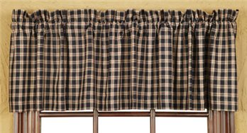 Bingham Star Plaid Valance 16 x 72