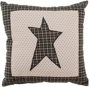 Kettle Grove Star Pillow 10 x 10