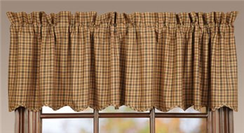 Millsboro Scalloped Valance 16 x 72