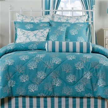 Captiva by Victor Mill Queen size 4 piece Comforter Set