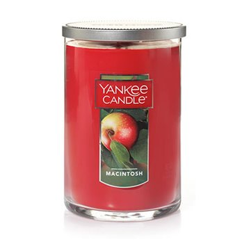 Yankee Candle MacIntosh Large 2 Wick Cylinder Candle