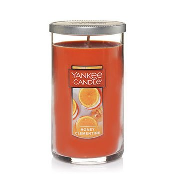 Yankee Candle Honey Clementine Medium Perfect Pillar Candle
