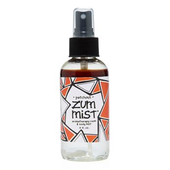 Zum Mist Patchouli Aromatherapy Room and Body Spray (4 oz.)
