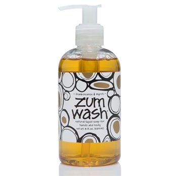 Zum Wash Frankincense & Myrrh Liquid Soap (8 oz)
