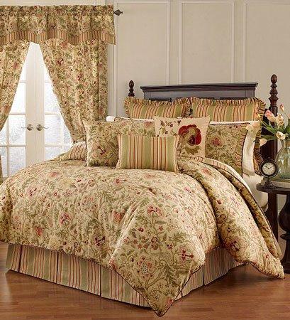 Imperial Dress Antique Queen Waverly Comforter Set Pc Fallon