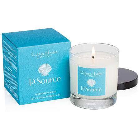Crabtree /& Evelyn La Source Three Fragranced Candles  NIB