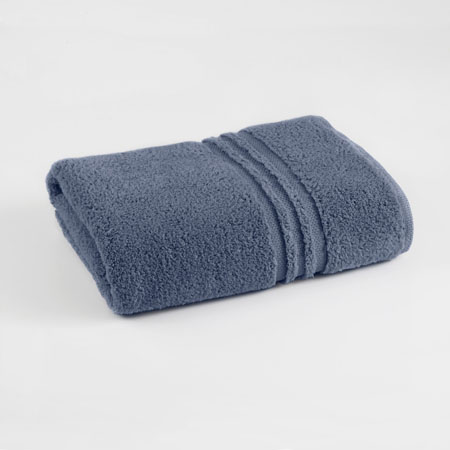 Under The Canopy Unity Certified Organic Cotton Blue Bath Towel By Westpoint