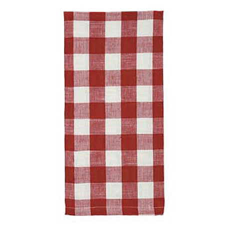 Picnic Red Dishtowel 20 x 28 by IHF Home Dcor