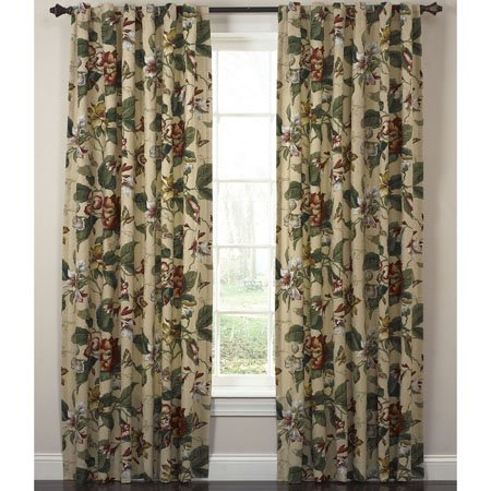 Laurel Springs Lined Drapery Panel Pair Pc Fallon