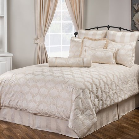 marquis california king size 10 piece comforter set by victor mill