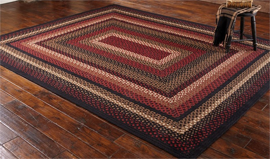 Folk Art Braided Rug 8x10 By Park Designs P C Fallon Co