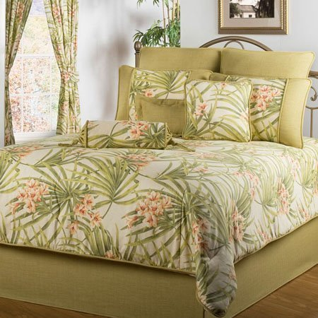 sea island california king size 4 piece comforter set by victor mill