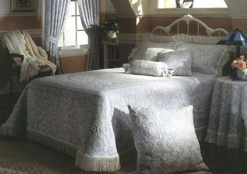 Genial Queen Elizabeth Full Wedgewood Blue Bedspread. Email A Friend