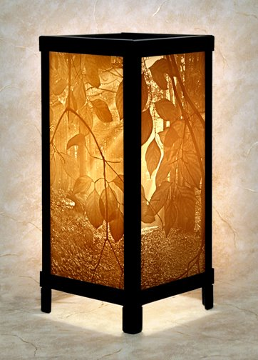 secret path luminaire by porcelain garden pc fallon. Black Bedroom Furniture Sets. Home Design Ideas