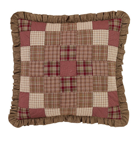 Ruffled Circle Quilt and Shams - Modern Furniture, Home