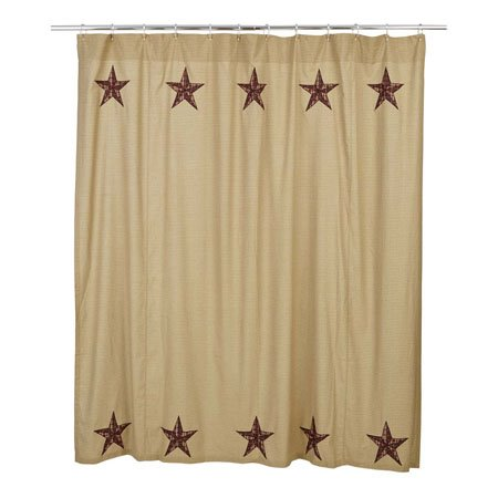 Landon Shower Curtain By VHC Brands