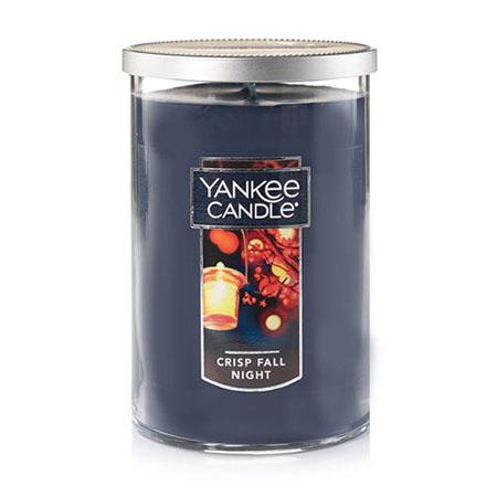 Yankee Candle Crisp Fall Night Large 2 Wick Tumbler Candle