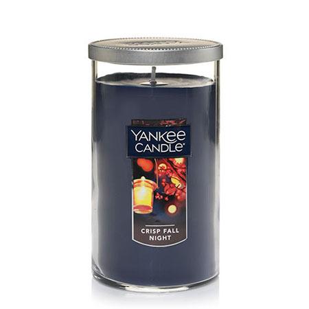Yankee Candle Crisp Fall Night Medium Perfect Pillar