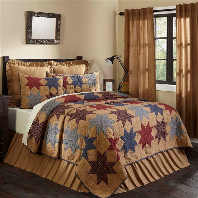 Kindred Star King Quilt 95x105