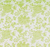 Shelby Green Floral Queen Bedskirt