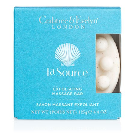 La Source Exfoliating Massage Bar Soap by Crabtree & Evelyn (1 bars, 4.9 oz., 138g)