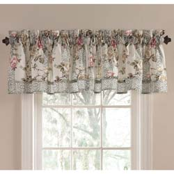 Cypress Gate Lined Valance