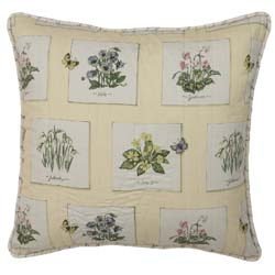 Greenhouse Quilted Decorative Pillow