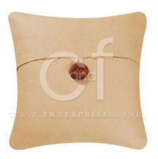 Tan Feather Down Pillow