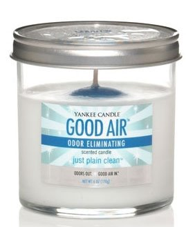 Yankee Candle Just Plain Clean Good Air Odor Eliminating Scented Candle