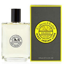 Crabtree & Evelyn West Indian Lime Cologne (3.4 fl oz, 100ml)