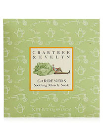 Crabtree & Evelyn Gardeners Soothing Muscle Soak Packette (1.5 oz., 42g)