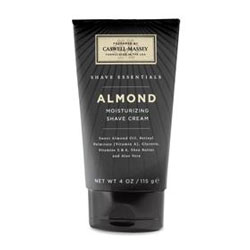 Caswell-Massey Shave Essentials Almond Shave Cream Tube (4 oz.)