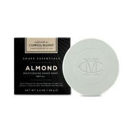 Caswell-Massey Shave Essentials Almond Shave Soap Refill