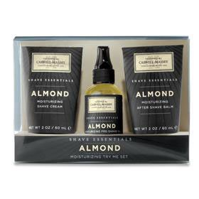 Caswell-Massey Shave Essentials Almond Try Me Set
