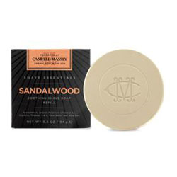Caswell-Massey Shave Essentials Sandalwood Shave Soap Refill (3.3 oz.)
