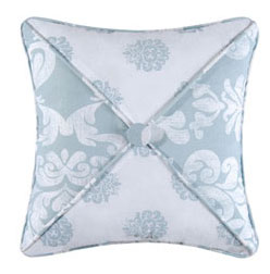 Providence Chambray Square Pillow