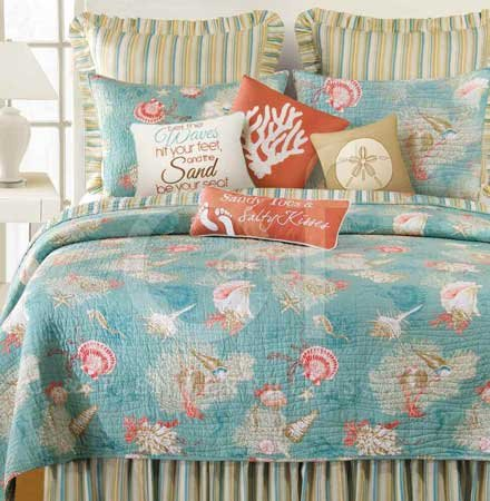 Santa Catalina Full Queen Quilt