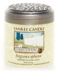 Yankee Candle Clean Cotton Fragrance Spheres Odor Neutralizing Beads